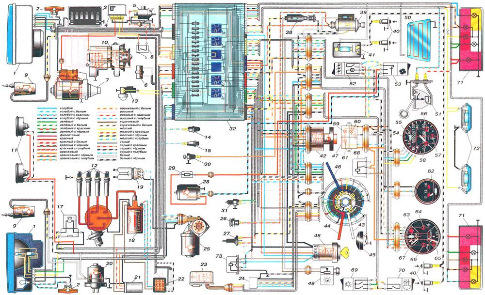 схемма ваз -2105 05.01.2010